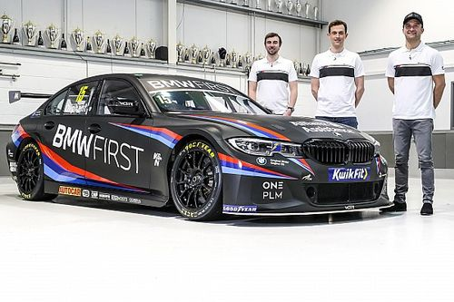 WSR BMW unveils new-look livery for 2021 BTCC season
