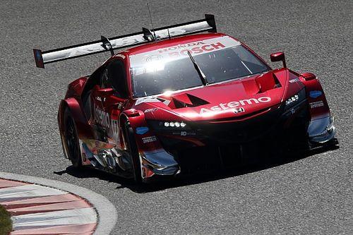 【スーパーGT】予選で苦しんだホンダ勢。17号車Astemoのバゲットは燃料流量制限と関係があると予想