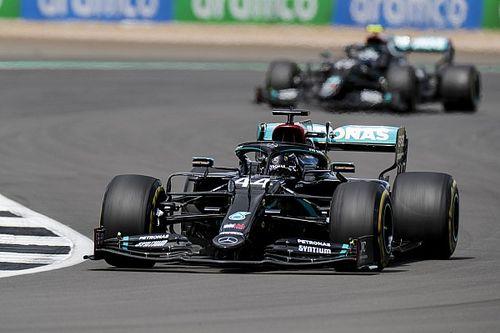 """Hamilton: """"Tüm yarış tam gaz gittim"""""""