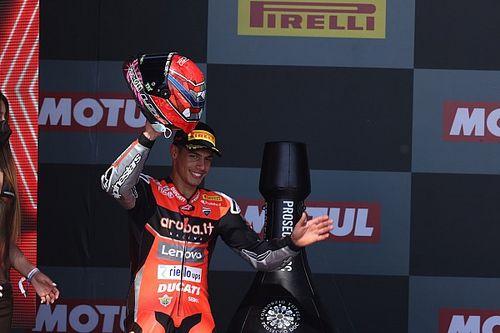 Beri Podium Ke-980 Ducati, Michael Rinaldi Panaskan Perebutan P4