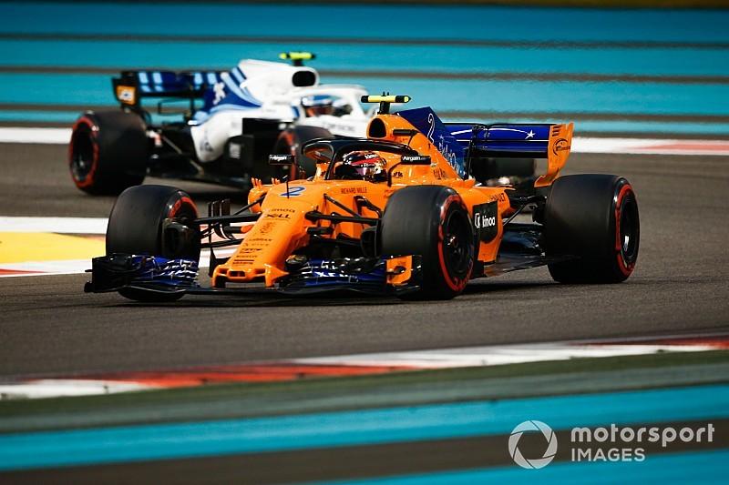 McLaren-Williams kepayahan, bukti F1 tak kenal ampun