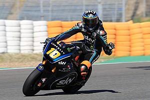 Marini pulveriza el récord de Jerez en la segunda sesión de test de Moto2