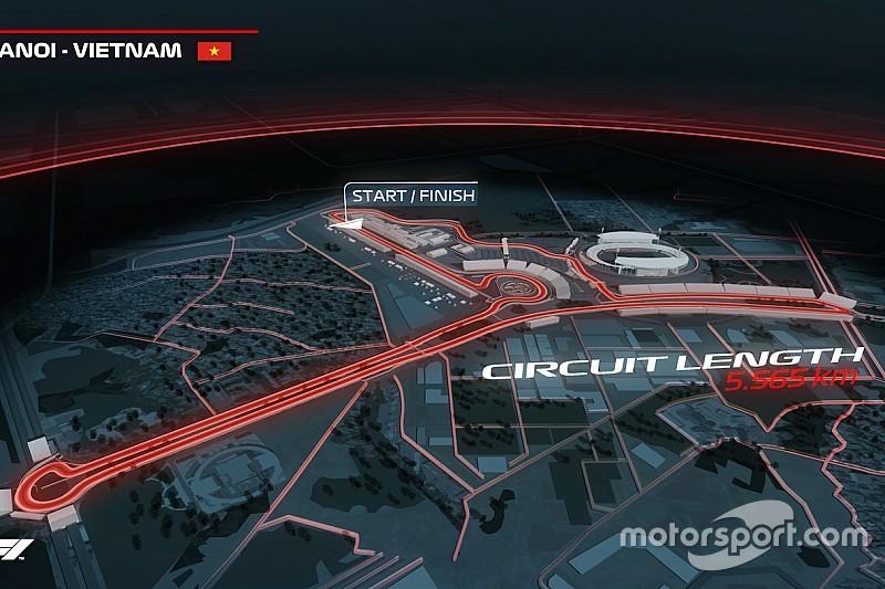 2020年から開催決定。ベトナムGPのコースは1周5.656kmの市街地コース