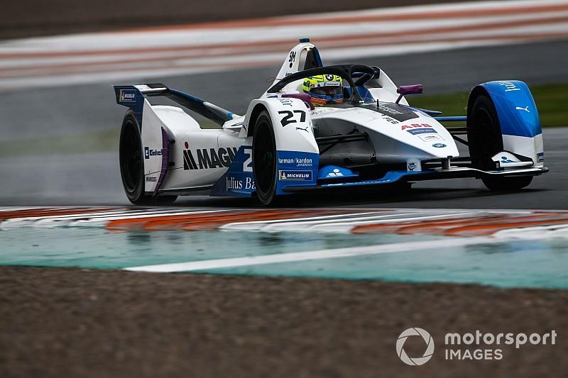 Valencia Formula E testinin üçüncü gününde Sims ve BMW lider