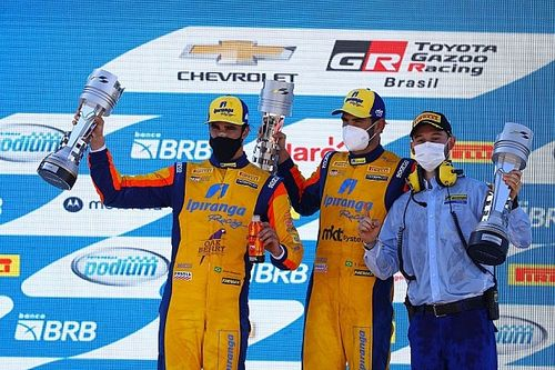 Stock Car: 'trinca' de Camilo e 1-2 com Ramos na etapa de Cascavel