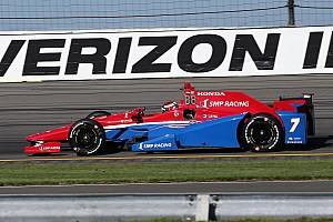 IndyCar Репортаж з практики Перша практика Поконо: три аварії та перемога Альошина