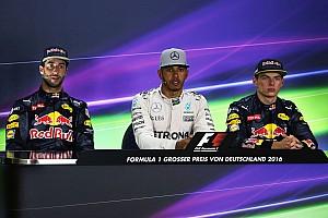 Formula 1 Press conference German GP: Post-race press conference
