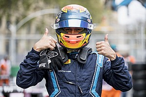 FIA F2 Qualifying report Baku F2: Albon takes pole in red-flagged session
