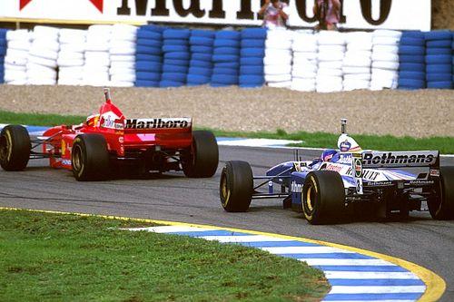 Retro: Toen Schumacher het goed probeerde te maken met Villeneuve