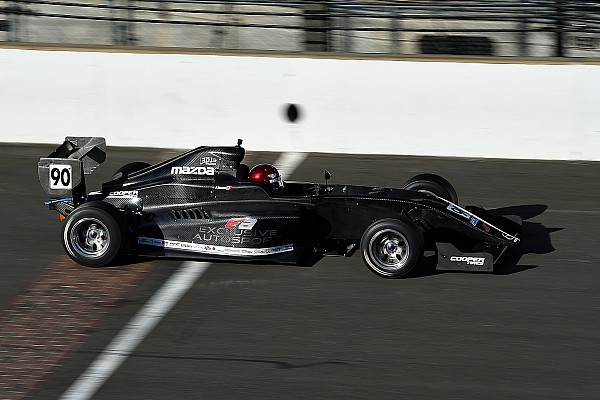 Pro Mazda Breaking news Exclusive Autosport retains Thompson, graduates to Pro Mazda