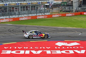Supercars Qualifying report Adelaide 500: Van Gisbergen edges provisional pole, Whincup in the wall