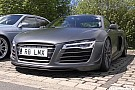 Automotive Rare Audi R8 LMX seen in action at the Nurburgring