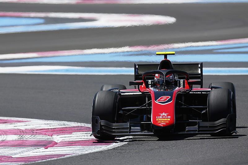 Расселл выиграл первую гонку Ф2 на «Поль Рикаре»