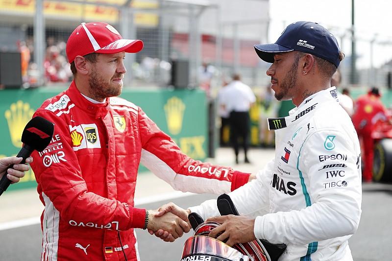 Hamilton lästert: Immer labern zu müssen, ist Vettels Schwäche