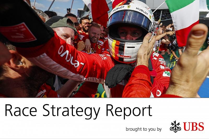 Report strategie: la domenica perfetta della Ferrari a Silverstone