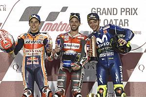 MotoGP Son dakika Galeri: MotoGP Katar yarışından kareler