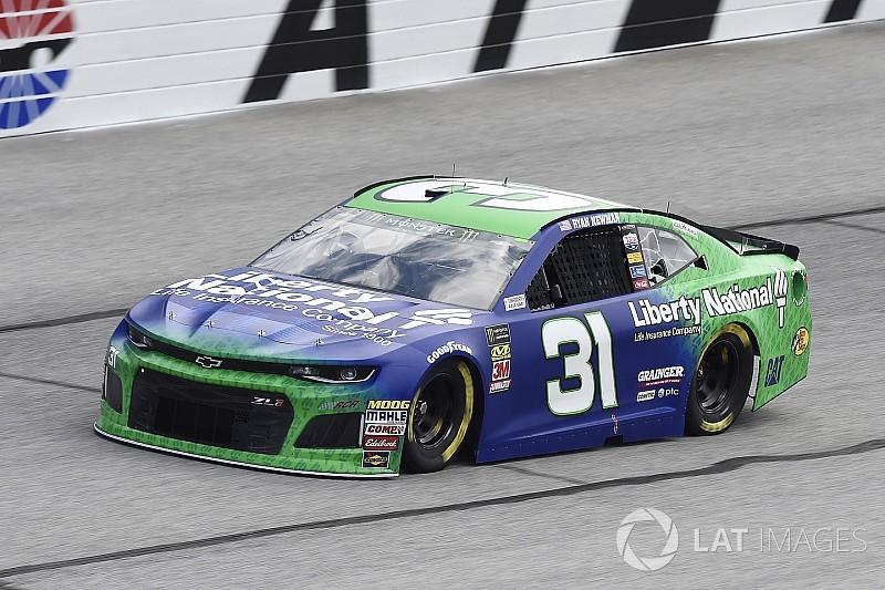 Ryan Newman leads final practice at Atlanta