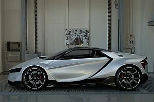 Симрейсинг Самое интересное Honda показала спорткар Vision GT для Gran Turismo Sport