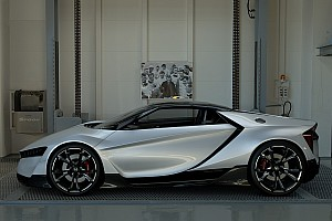 eSports Самое интересное Honda показала спорткар Vision GT для Gran Turismo Sport