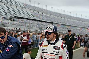 IMSA Noticias Fernando Alonso, contento por estar en las 24 Horas de Daytona