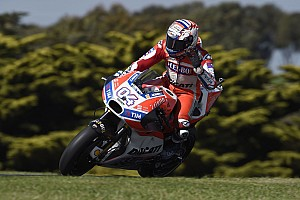 Una caída afectó la calificación de Dovizioso en Australia