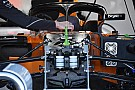 Formula 1 McLaren: i cinematismi della sospensione restano nella scocca