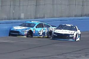 NASCAR Cup Reaktion California-Clash mit Larson lässt Harvicks Siegesserie reißen