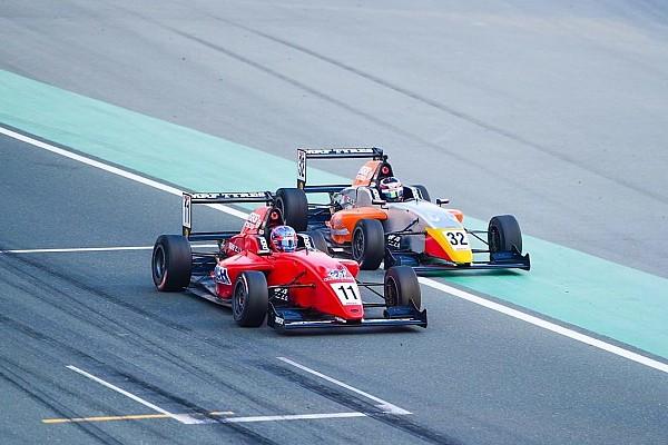 Indian Open Wheel MRF Dubai: Presley Martono finis runner-up di Race 3, Dana P14