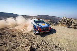 WRC Yarış ayak raporu Meksika WRC: Sordo liderliğe yükseldi, Loeb üçüncü