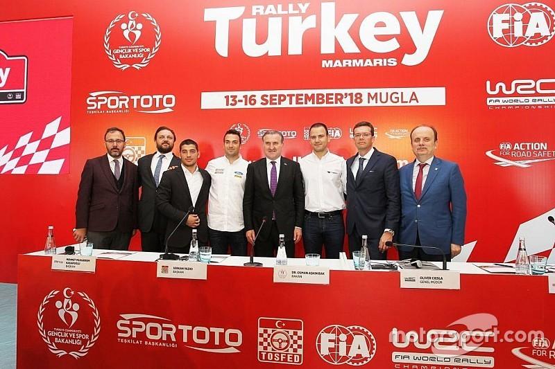 Türkiye, 2018 Dünya Ralli Şampiyonasına hazır
