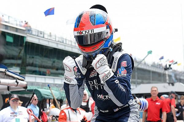 Indy Lights Race report Indy GP Indy Lights: Herta sweeps weekend after fierce battle