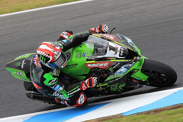World Superbike Testing report Rea ends Philllip Island test on top despite crash
