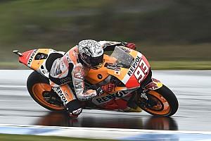 MotoGP Practice report Australian MotoGP: Marquez fastest, big names dumped into Q1
