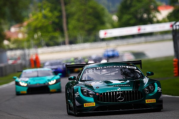 AMG - Team Black Falcon 2016 racing campaign continues at Silverstone