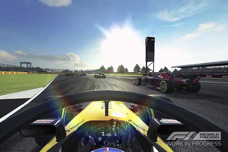 F1'in yeni mobil oyununun ilk klibi yayınlandı