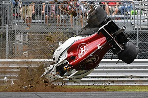 Gallery: Marcus Ericsson's huge F1 crash at Monza