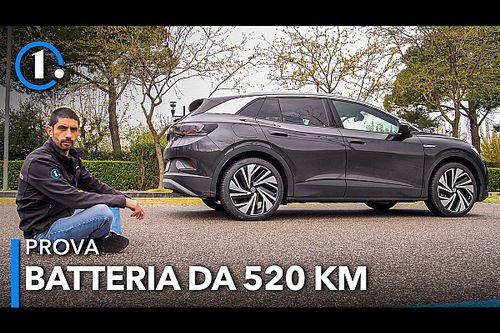 Volkswagen ID.4, prova del SUV elettrico (autonomia 520 km)