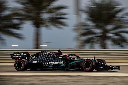 Russell zet de toon tijdens eerste training Grand Prix van Sakhir
