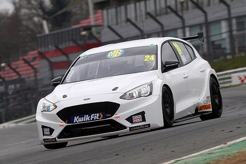 BTCC race winners get first taste of new machinery in Brands test