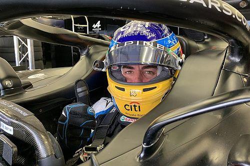 """Alonso : """"Je suis content de tout ce que je vois en F1"""""""