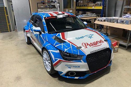 Audi Rally2 Kit na Slovakia Ringu