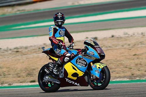Moto2, Teruel: Lowes trionfa e diventa leader, disastro VR46
