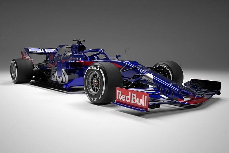 红牛二队在线发布新车STR14