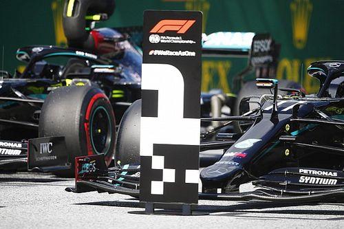 La parrilla de salida del GP de Austria 2020 de F1