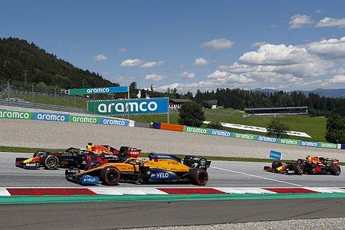 Гран При Австрии круг за кругом. Как развивалась борьба в первой гонке сезона: инфографика