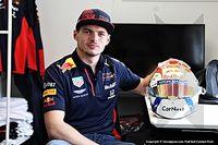 Fotos: Verstappen, primero en aprovechar el libre cambio de casco
