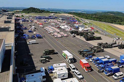Nürburgring langer uitvalsbasis voor hulpdiensten, races afgelast