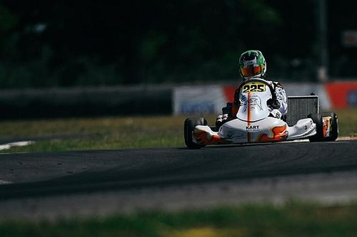 Matheus Ferreira busca título da OK Júnior na final do Europeu de Kart