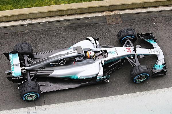 Formel 1 News Formel 1 2017: Mercedes präsentiert den neuen W08