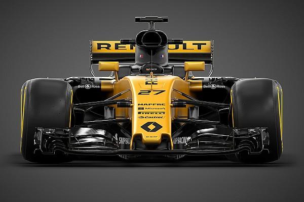 Formula 1 Son dakika Renault'nun 2017 F1 aracı R.S.17 görücüye çıktı!